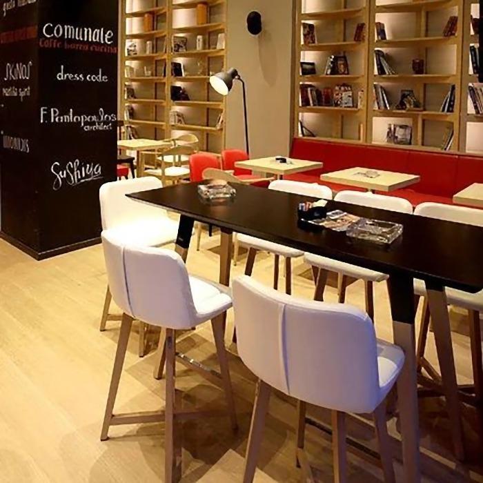 Σχεδιασμός και κατασκευή Καφέ-Εστιατόριο στο Κέντρο της Θεσσαλονίκης